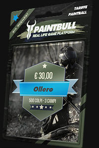 Copuon paintball Ollero