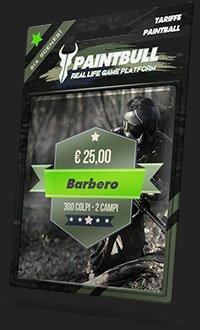 Tariffa paintball Barbero